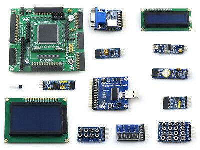 XILINX XC3S500E Spartan-3E FPGA Development Board DVK600+Core3S500E+12 Modules