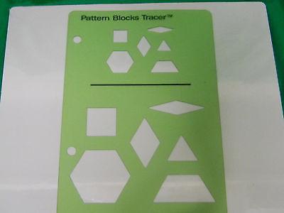 Pattern Block Templates-set of 5- 75% off retail