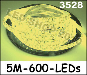 5M-Warm-white-3528-SMD-LED-Waterproof-Flexible-Strip-12V-600-LEDs