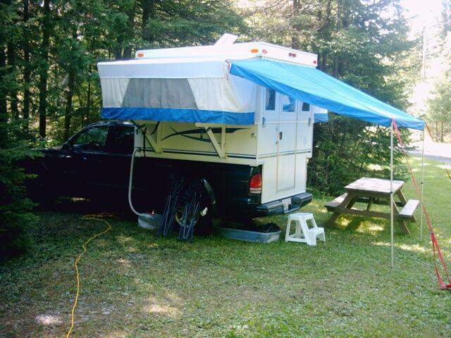 PLANS to build Unique POP-UP Truck Camper RV Truck Tent