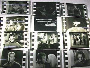 STAR-TREK-TV-Series-Rare-film-cell-lot-of-12-collection-movie-dvd-memorabilia