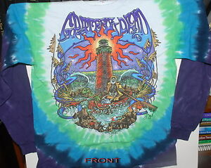 GRATEFUL-DEAD-FRANKLINS-TOWER-2-SIDED-LONG-SLEEVE-TIE-DYE-T-SHIRT-NEW