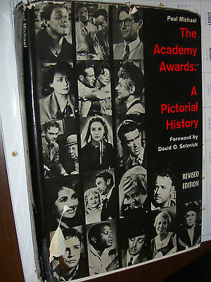 The Academy Awards A Pictorial History by Paul Michael by Bonanza Books HC 1964