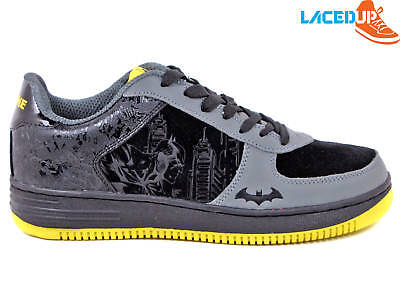 DC COMICS BATMAN DARK KNIGHT SHOES BRUCE WAYNE COLLECTIBLE AF1 SNEAKERS 11.5