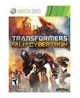 Transformers: Fall of Cybertron (Microsoft Xbox 360, 2012)