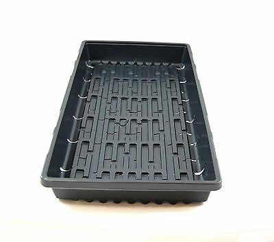 1020 Greenhouse Growing Tray With Holes - Seed Starting Propagation - 25 Count