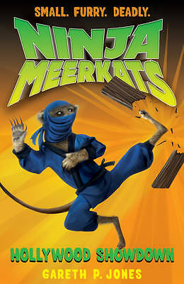 """AS NEW"" Jones, Gareth P., Hollywood Showdown (Ninja Meerkats) Book"