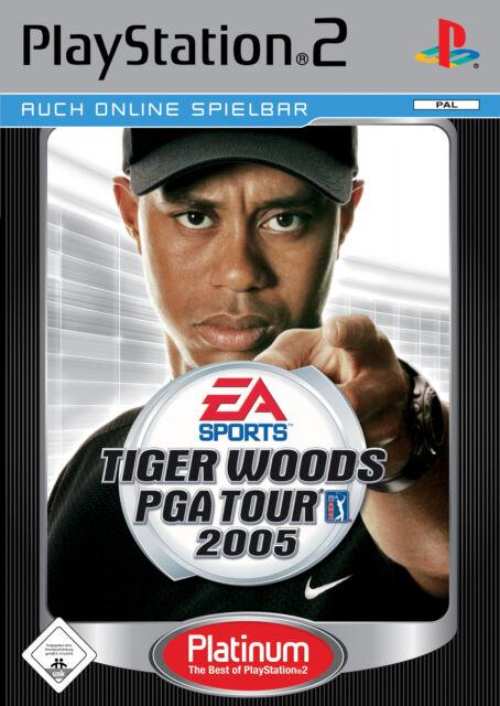 Tiger Woods PGA Tour 2005 Platinum PS2 Playstation 2