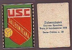 FIGURINA CALCIO - SALERNITANA SCUDETTO