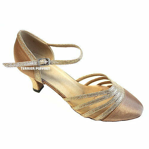 TPS Latin Ballroom Salsa Custom-made Dance Shoes D76