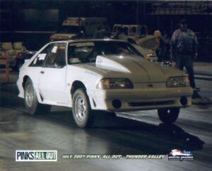 Fox body mustang drag race car for Fox motors used cars