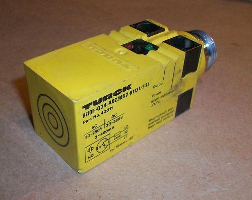 Turck Proximity Sensor Bi10F-Q34-ADZ30X2-B1131/S34