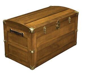 Amish-Storage-Steamer-Trunk-Wooden-Wood-Cedar-Chest-New
