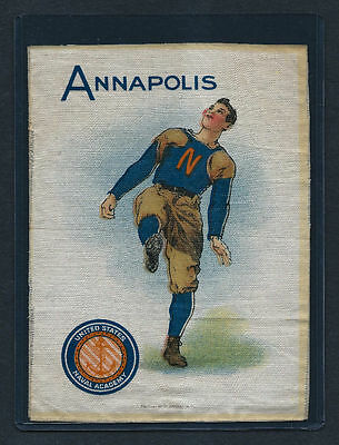 S21 LARGE MURAD TOBACCO SILK ANNAPOLIS NAVY FOOTBALL