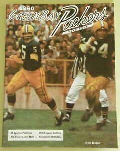 GREEN-BAY-PACKERS-1960-YEARBOOK-FIRST-YEAR-MINT