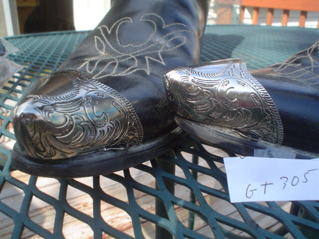 GK Boot Tips/ Caps  ***  Toe Cap Nickel Pated  ***    Western  GT305N