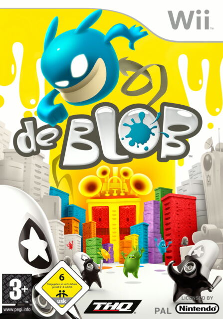 de Blob Nintendo Wii, 2009, DVD-Box  -Sammlerstück-