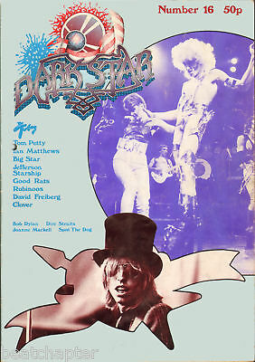 DARK STAR Magazine No 16 1978 Good Rats I Mattews Dire Straits Bob Dylan Clover