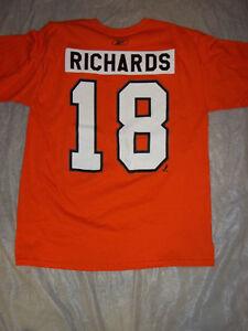 5bf5cc1abdb5f Details about MIKE RICHARDS #18 PHILADELPHIA FLYERS NHL RETRO PLAYER TSHIRT  FREE SHIPPING