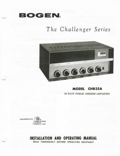 David Bogan Vintage Amplifier & PA Schematics and Manuals on CDROM