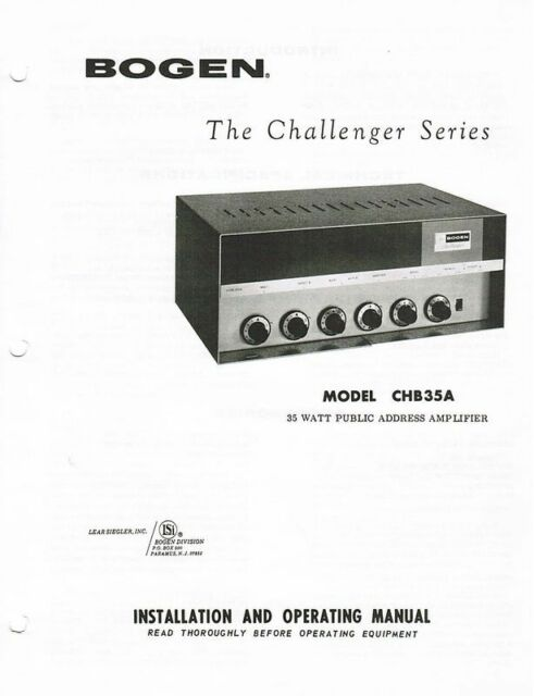 David Bogan Vintage Amplifier & PA Schematics and Manuals on CDROM