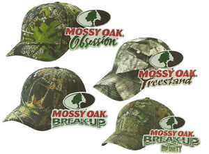 MOSSY-OAK-SERIES-1-Camo-BreakUp-Infinity-Obsession-Treestand-Hunting-Hat-Cap