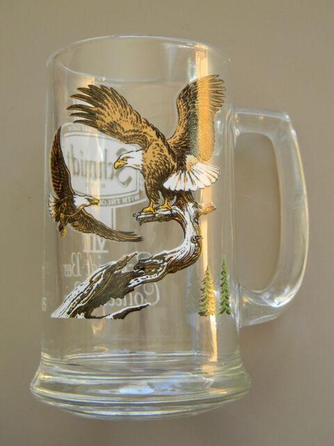 Schmidt Original Collectors Series VIII Bald Eagle Glass Mug