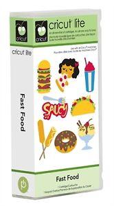 Cricut-Lite-Fast-Food-Cartridge-Brand-New-Ready-To-Ship