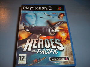 HEROS-OF-THE-PACIFIC-PS2-COMPLET-envoi-suivi