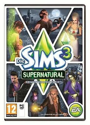 Die Sims 3 Supernatural Add-On PC Download EA Origin CD Key *NEU* *Original*