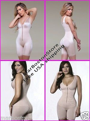 Vedette Post Surgical, Full Body Shaper, Mid-Thigh With bra,Instant Reducer Faja