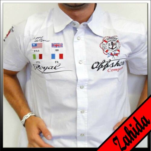 """ZAHIDA"" Polo Herren T-Shirt Club Party Hemd Hemden Poloshirt S M L XL XXL NEU"