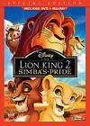 The Lion King II: Simbas Pride (Blu-ray/DVD, 2012, 2-Disc Set, Special Edition DVD/Blu-ray)