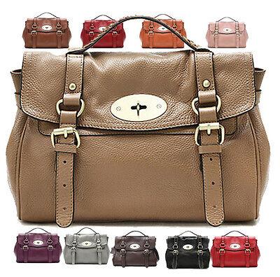 Top Quality Genuine Leather Zency Women's Handbag Tote/Shoulder Cross Body Bag