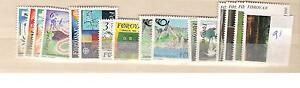 1991 MNH Faeroër, Färöer, Faroer, Faroe Islands, Faeroer, postfris - Amsterdam, Nederland - Unmounted mintyear set according to michel cataloguewhen buying more than 1 yearset: only 1x postage postfris, jaargang volgens michel cataloguswanneer u meer dan 1 jaargang koopt betaald u 1x porto - Amsterdam, Nederland