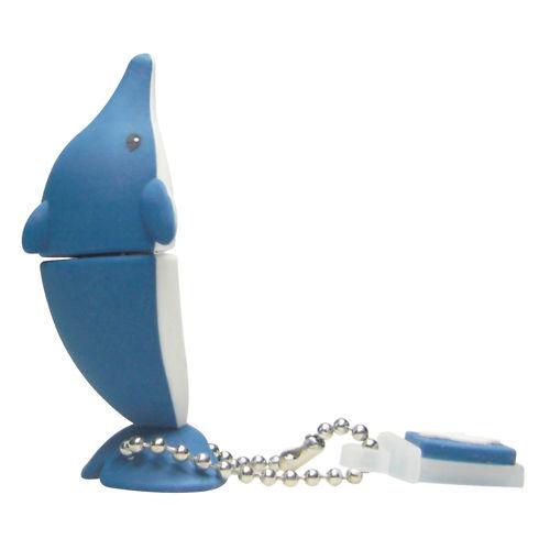 CLE USB 4 GO RAPIDE EMTEC DAUPHIN / dolphin 4 gb key