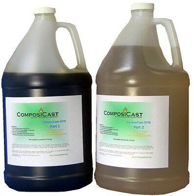 ComposiCast Urethane Casting Resin Plastic Polymer 2  gallons Polymer