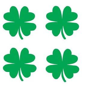 4-2-clover-4-leaf-vinyl-Decal-sticker-any-size-color-surface-car-wall-S007