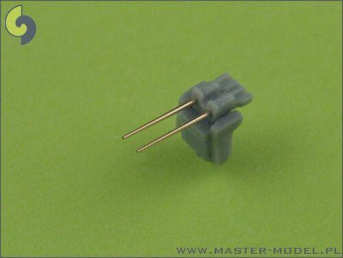 3,7cm/83 SK C/30 GESCHÜTZROHRE 20 STUCK fur BISMARCK/TIRPITZ..#45  1/350 MASTER