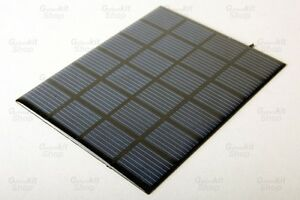 6V-1-5W-250mA-Durable-Solar-Panel-Solar-Chargers-Robot-RC-Gilders
