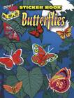 3-D Sticker Book--Butterflies by Dover Publications Inc. (Paperback, 2012)