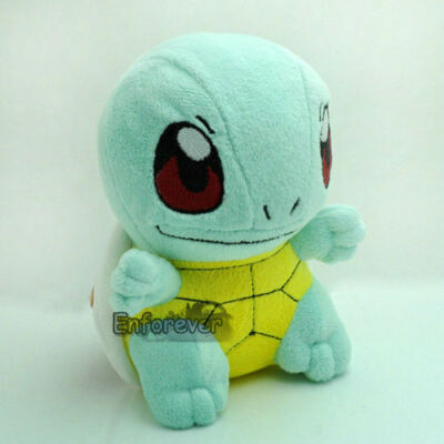 """6"""" New Pokemon SQUIRTLE Plush Soft Toy Doll^PC1919"""