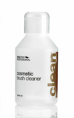 Strictly Professional Cosmetic Brush Cleaner Removes Make-Up from Brushes - 150m