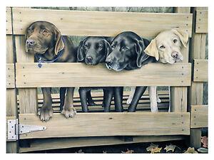 25-034-Welcome-Home-034-Labradors-28x22-Paper-Print-Robert-Metropulos