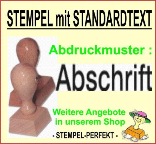 Stempel Bürostempel Verwaltungsstempel Holzstempel Lagertextstempel