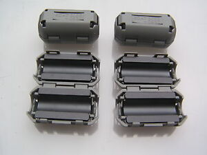 Ferrite-Ring-TDK-ZCAT2035-0930-Clip-On-Up-To-9mm-Cable-4-Pieces-OM990