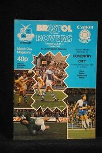 PROGRAMME-TEST-STEVE-BAILEY-Bristol-Rovers-vs-Coventry-City-15-Nov-1983
