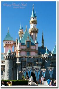 Sleeping-Beauty-Castle-Disneyland-CA-Travel-NEW-POSTER