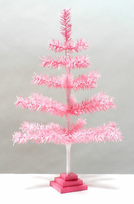 15 Oh Wee Christmas Tree! Collection On EBay! - Pink Feather Christmas Tree