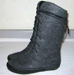 patagonia arnoux wool leather boots womens sz 8 5 snow